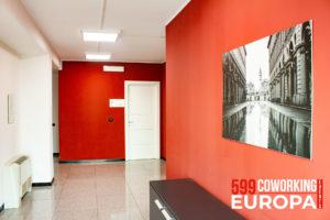 Corridoi accesso uffici Torino