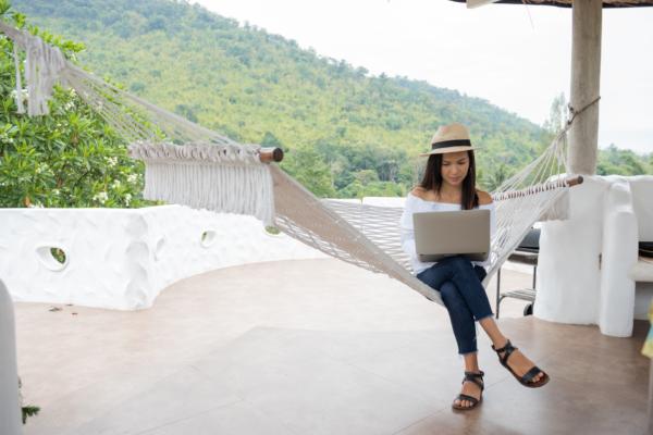 Smart working e turismo: l'ufficio ovunque
